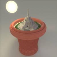 Speed modelling a flowerpot in 30 Minutes by DennisH2010