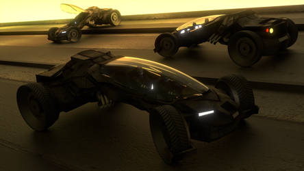 Speed Car Cycles Render by DennisH2010
