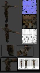 Rebel Soldier Type by DennisH2010