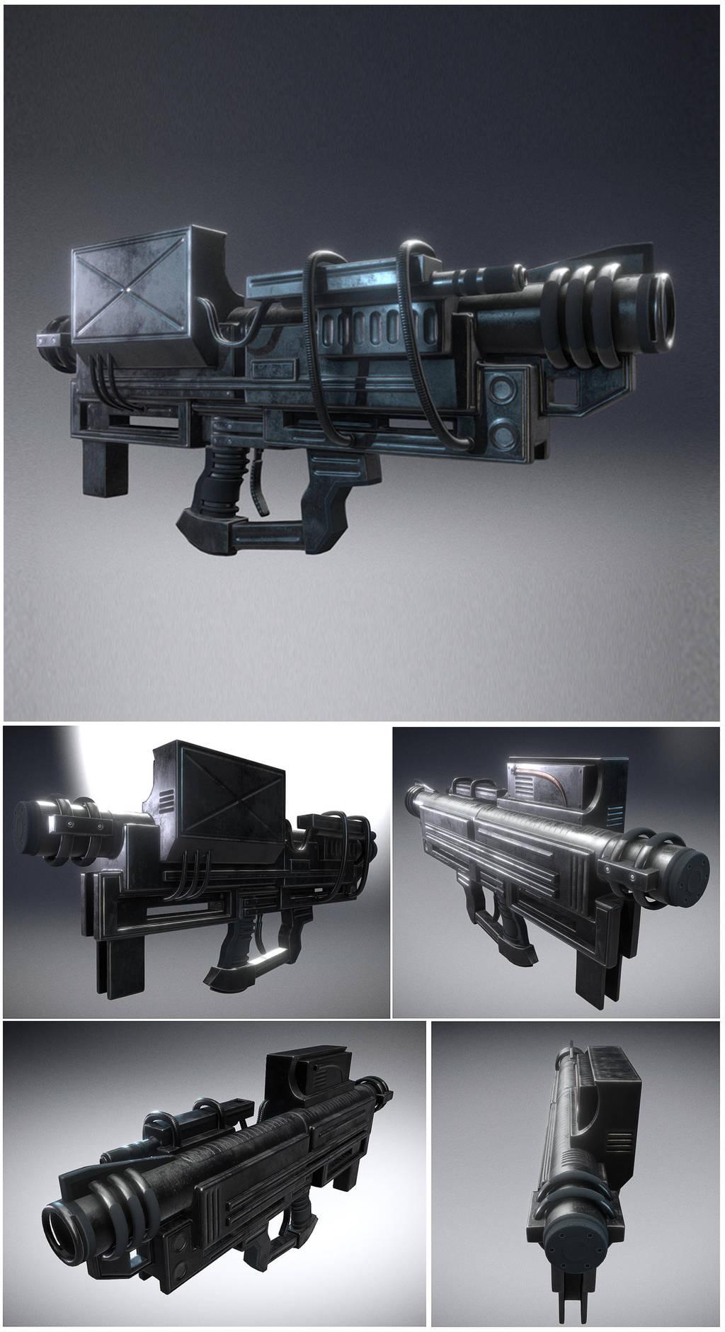 Heavy Blaster by DennisH2010