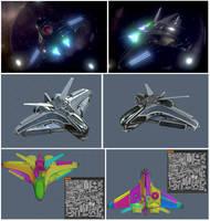 Intergalactic Spaceship by DennisH2010