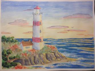 Lighthouse by Noxe-ApplePi