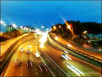 KL Highway by ilyani
