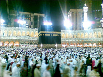 The Kaabah by ilyani