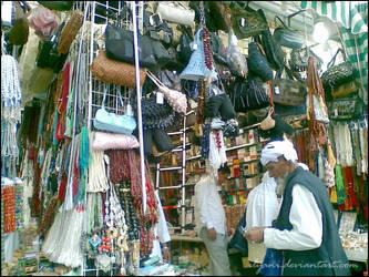 Street shops in Makkah by ilyani
