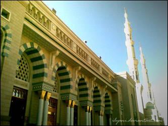 Medinah - Prophet Mosque 2 by ilyani