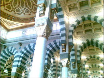 Medinah: Prophet Mosque 3 by ilyani