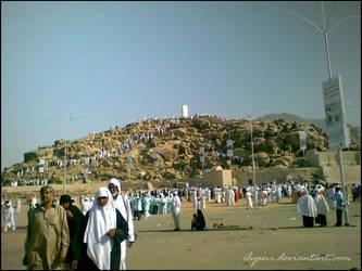 Jabal Rahmah, Mount Arafat by ilyani