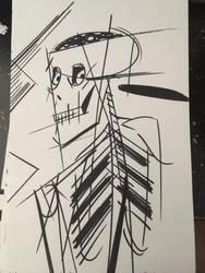 Skeleton bro by AbunchOfHooplah