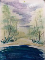 Watercolor Sketch 2 by AbunchOfHooplah