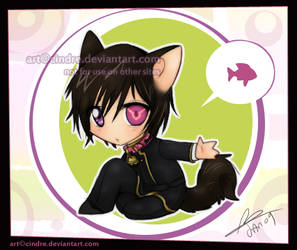 CG: Kitty Lulu mewmew by cindre