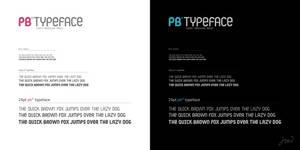 PB Typeface by arpad