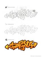 Gangsta - graffiti experiment by arpad