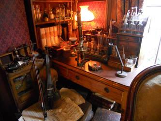 Holmes's Workstation by darksporechild