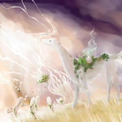 [TWWM] Firestorm - Catching Lightning by DreamingFoxfire