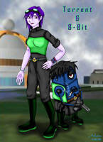 Torrent and 8-Bit by IAmArkain