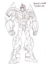 Tfp Rodimus Prime by HIIVolt-07