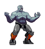 The biggest man by HIIVolt-07