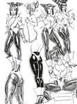Another Juri Han costume by HIIVolt-07
