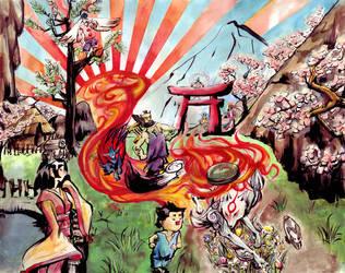 Okami --Path to the Future by nillia