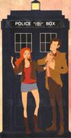 TARDIS by nillia