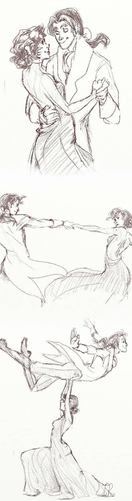 The Delancys Dance by nillia