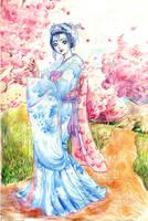 Dew Geisha by nillia