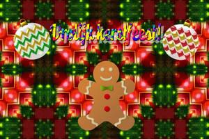 Vrolijk kerstfeest! by LoloAlien