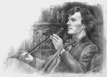 Sherlock by kuliszu