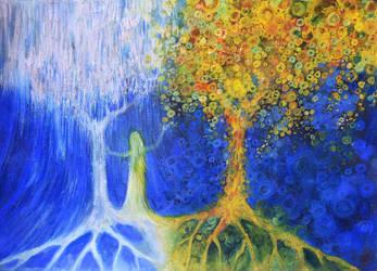 Two Trees Of Valinor by kuliszu