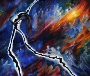 Ainulindale: The Discord of Melkor by kuliszu