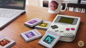 Adobe X Nintendo by VictorJardel