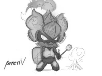 Marshmallow?  Marshadow? by BsTeriv