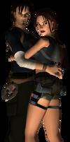 Lara e Kurtis by Pedro-Croft