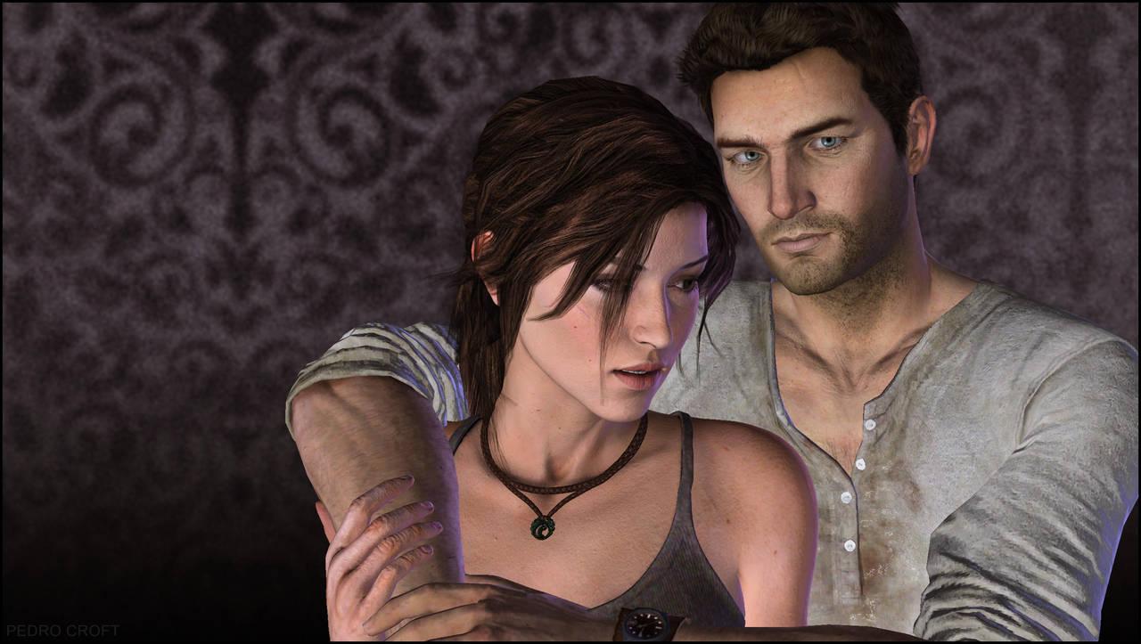 Lara and Drake by Pedro-Croft