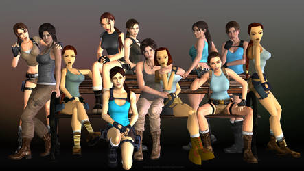 20 years of Tomb Raider by Pedro-Croft