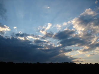 Sunlit Clouds by Duches77