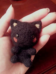 Felted Kitty! by HuggleMistress