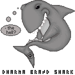 .:Dharma Shark Pixel:. by InfinitiesEnd