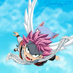 Fairy tail 462 - Natsu and Happy by Shmeling177