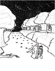 Snowy Summer Evening by William-John-Holly