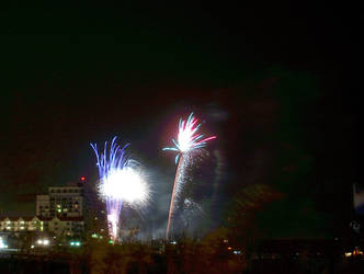 Fourth of July Fireworks - 11 by parang