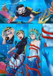 Mermaid  tf tg p1 by ibenz009