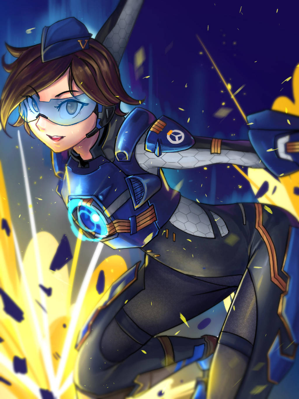 Cadet Tracer by ibenz009