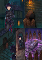 Ninja and the Dark cults p1 by ibenz009