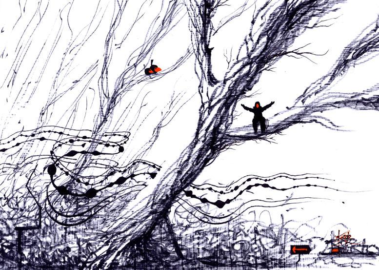 weird winter by J4K0644061x