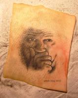 assange tattoo by J4K0644061x