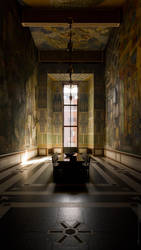 Oslo Town Hall - room. Vertical Wallpaper by teheimar