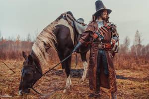 Witch Hunter's Longcoat of the Fallen Explorer by Svetliy-Sudar