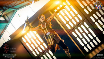 Jedi Grand Master Satele Shan (cosplay) by Svetliy-Sudar